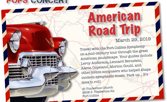 The Fort Collins Symphony takes an American Road Trip
