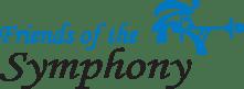 Friends of the Symphony FOS logo