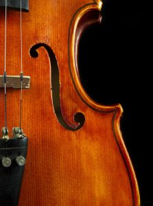 violin vertical