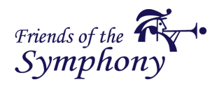 Friends of the symphony logo