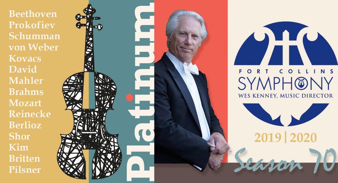 Fort Collins Symphony Announces Platinum Season 70