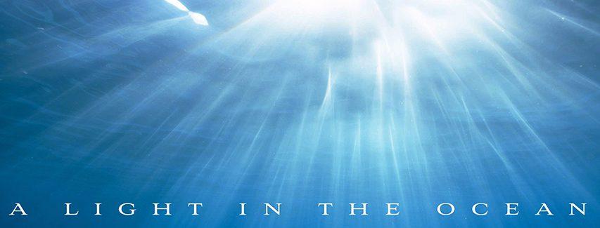 A light in the ocean banner