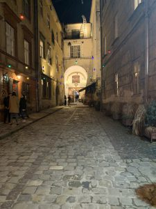 Alley in Lviv