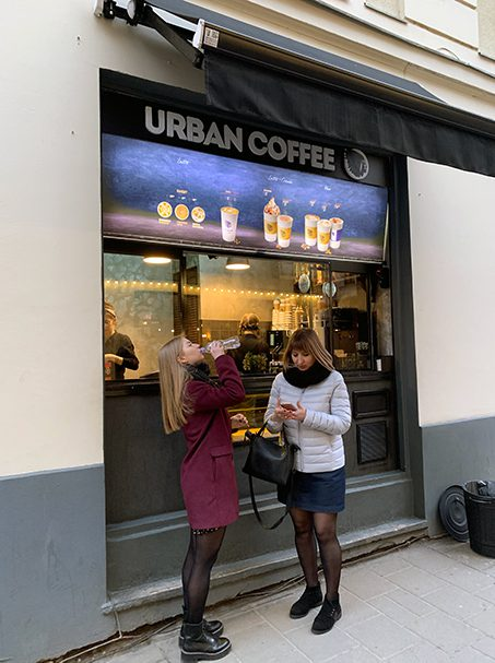Urban Coffee in Lviv