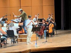 Guest Conductor Taras Krysa and Guest Flute Soloist Norman Menzales
