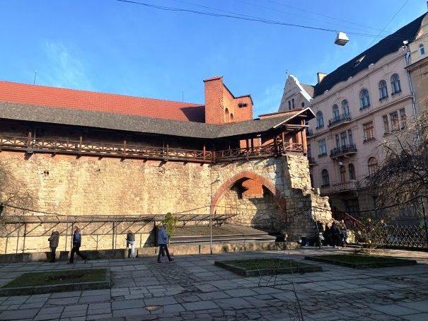 Plaza in Lviv