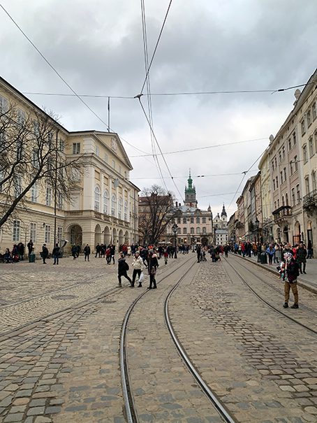 The Lviv Train Station