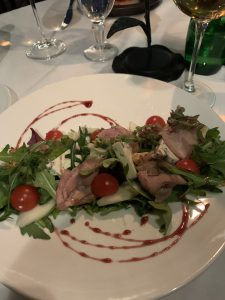Salad in Lviv