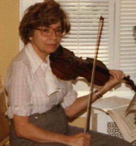 Dorothy Gruber Horowitz Principal First Violin Endowed Chair