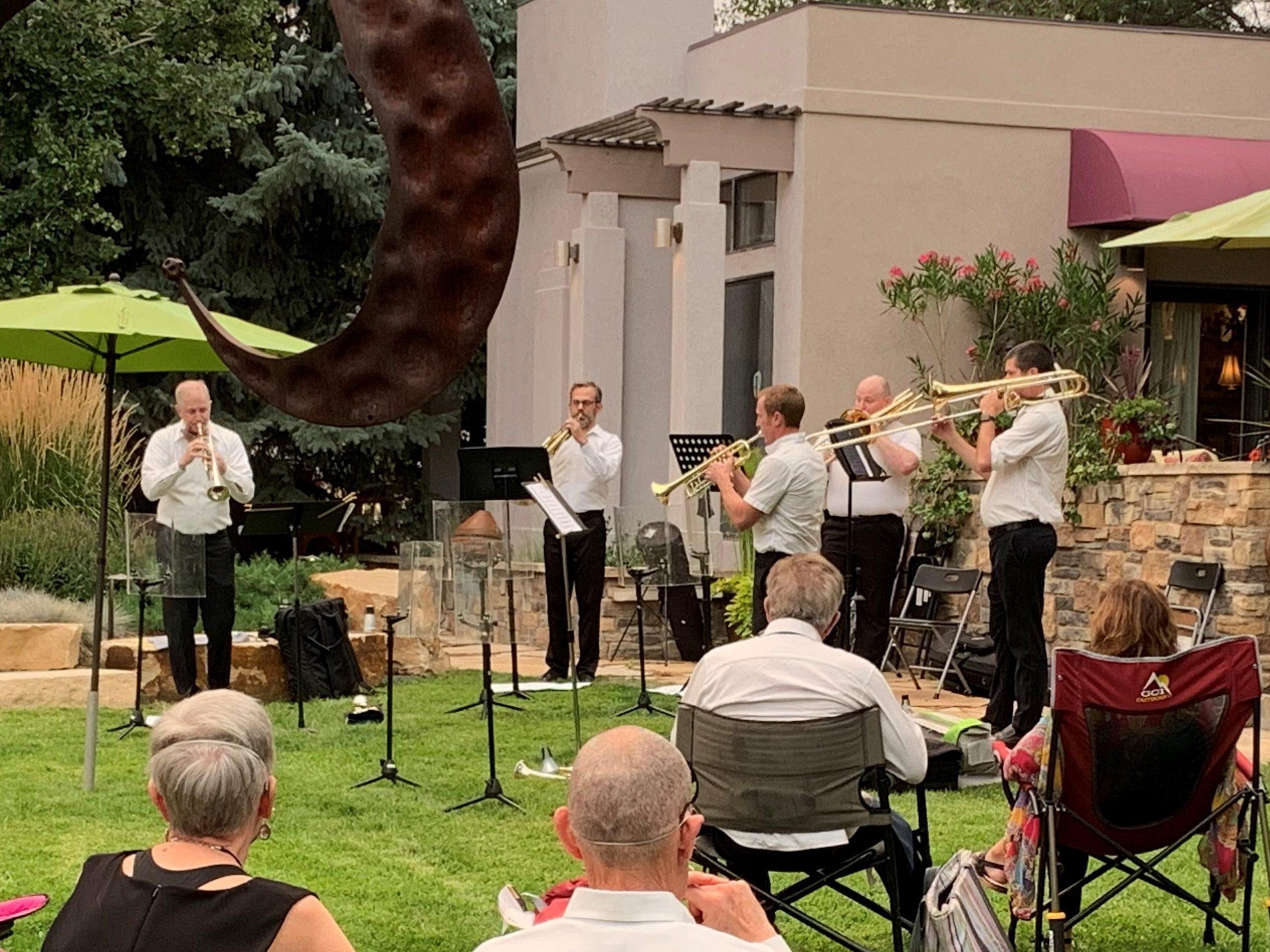 hixon gardens brass quintet