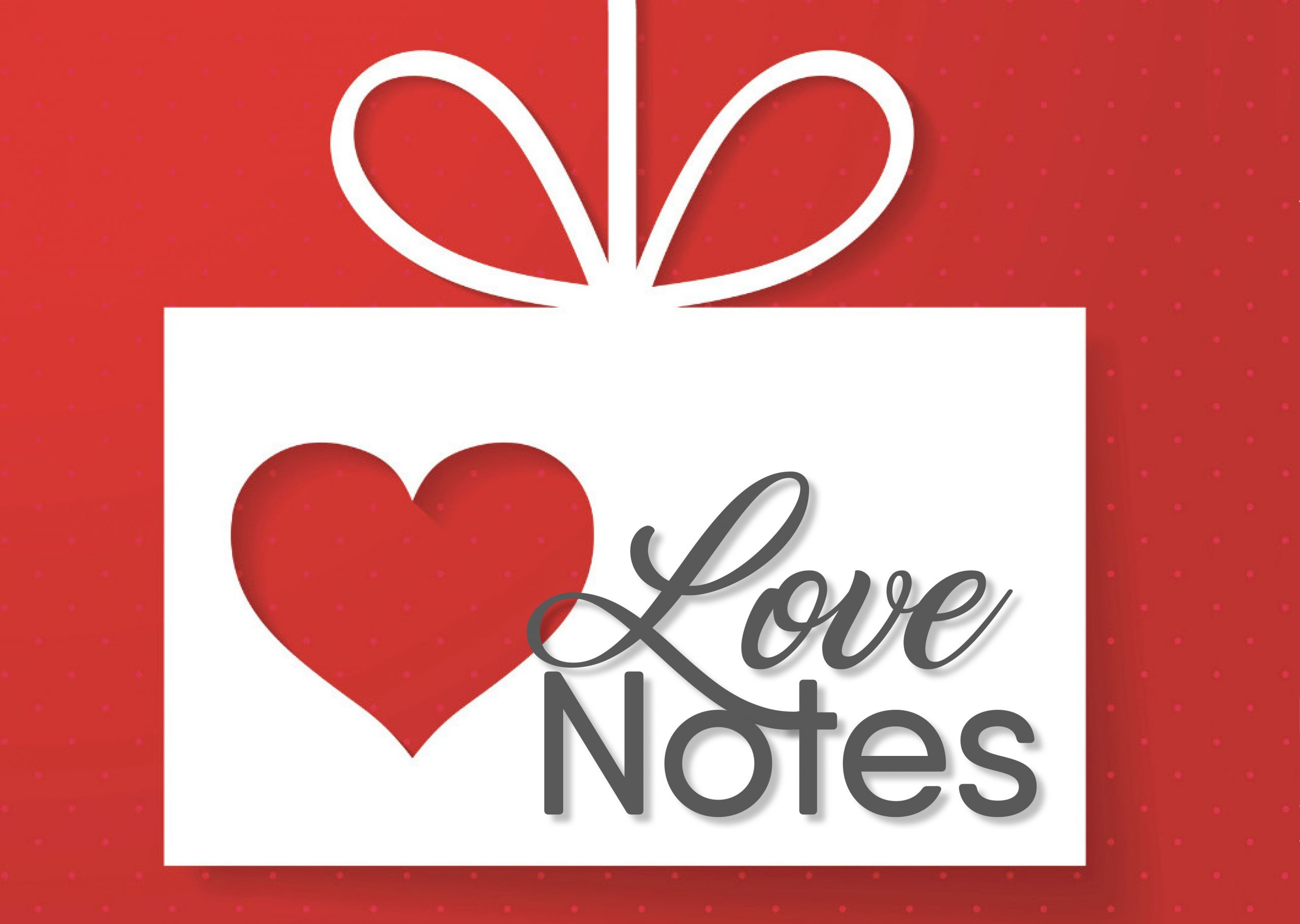 Love Notes Logo Red