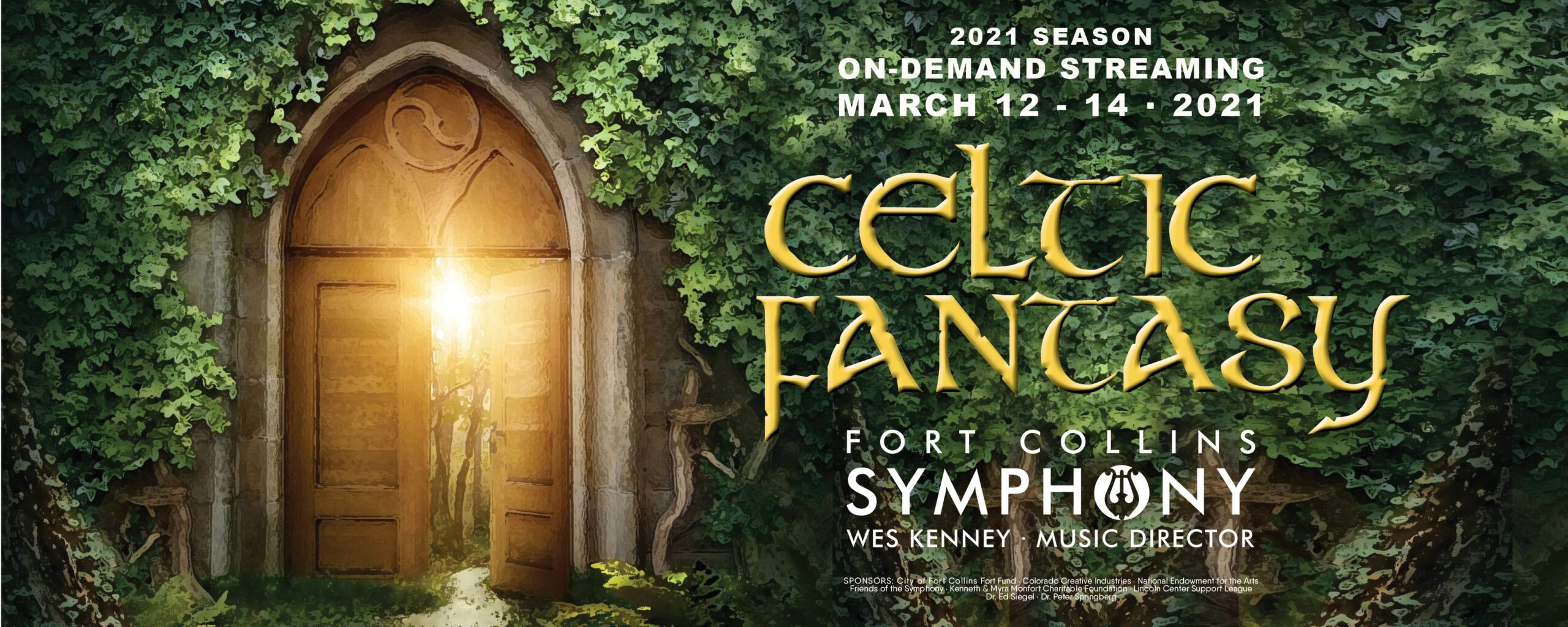 Celtic Fantasy Concert Header