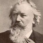 Johannes Brahms Portrait