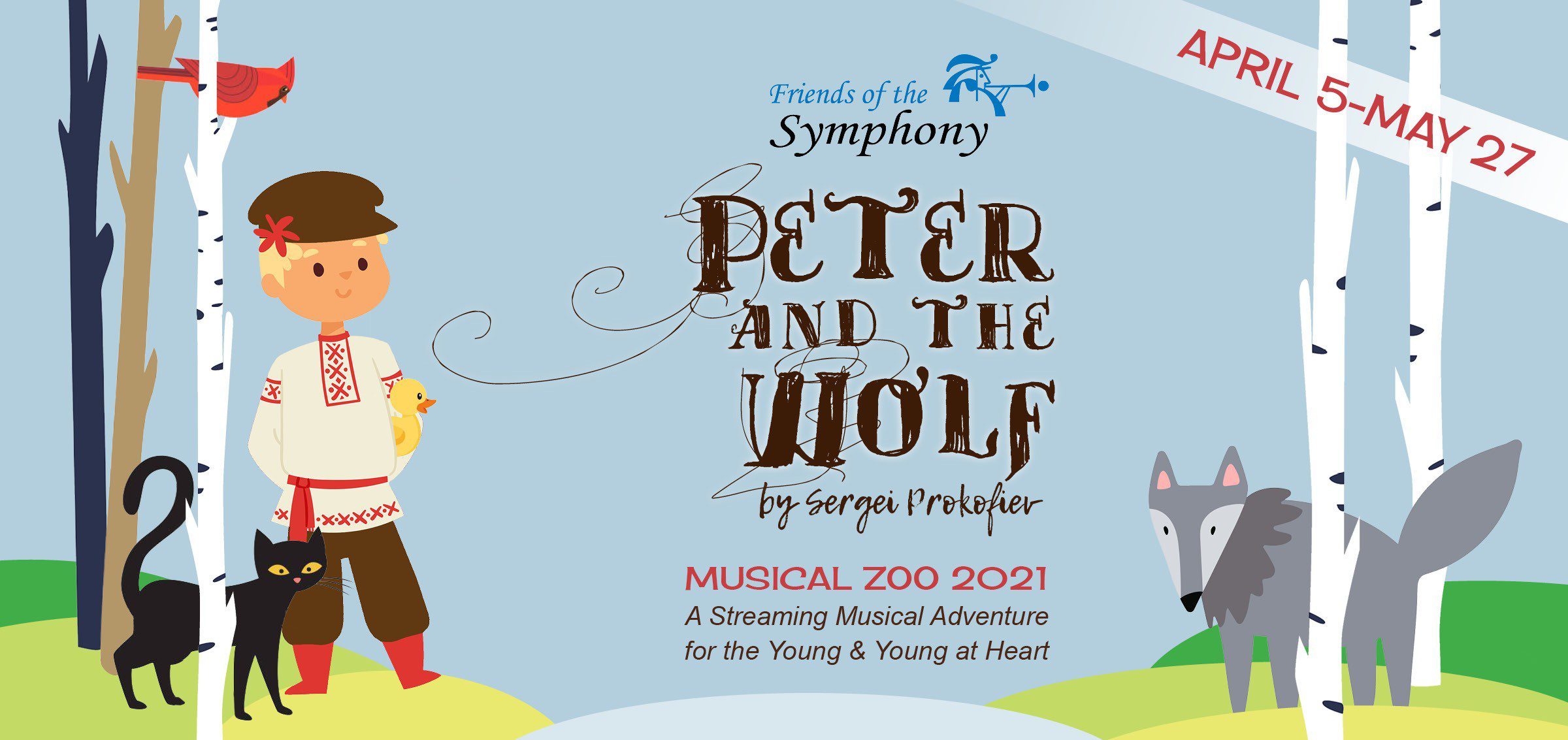 Musical Zoo 2021 Peter and the Wolf Virtual