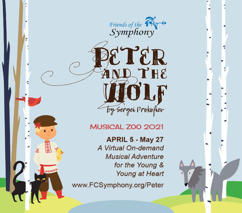 Peter and the Wolf P&W square