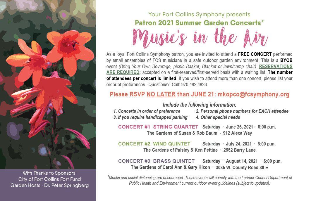 FCS Garden Concerts