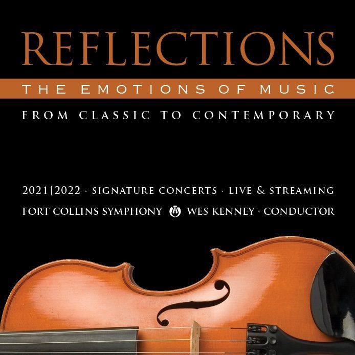 Reflections Season Violin Square