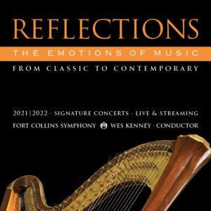 Reflections Season Harp Square