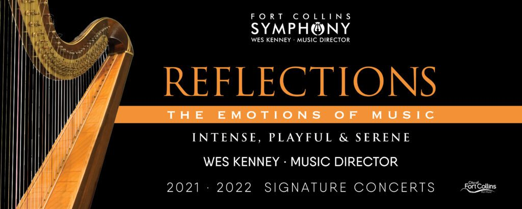 FCS 21-22 Season Harp The emotions of music concert 5: Intense, Playful, and Serende, featuring Wes Kenney, Music Director