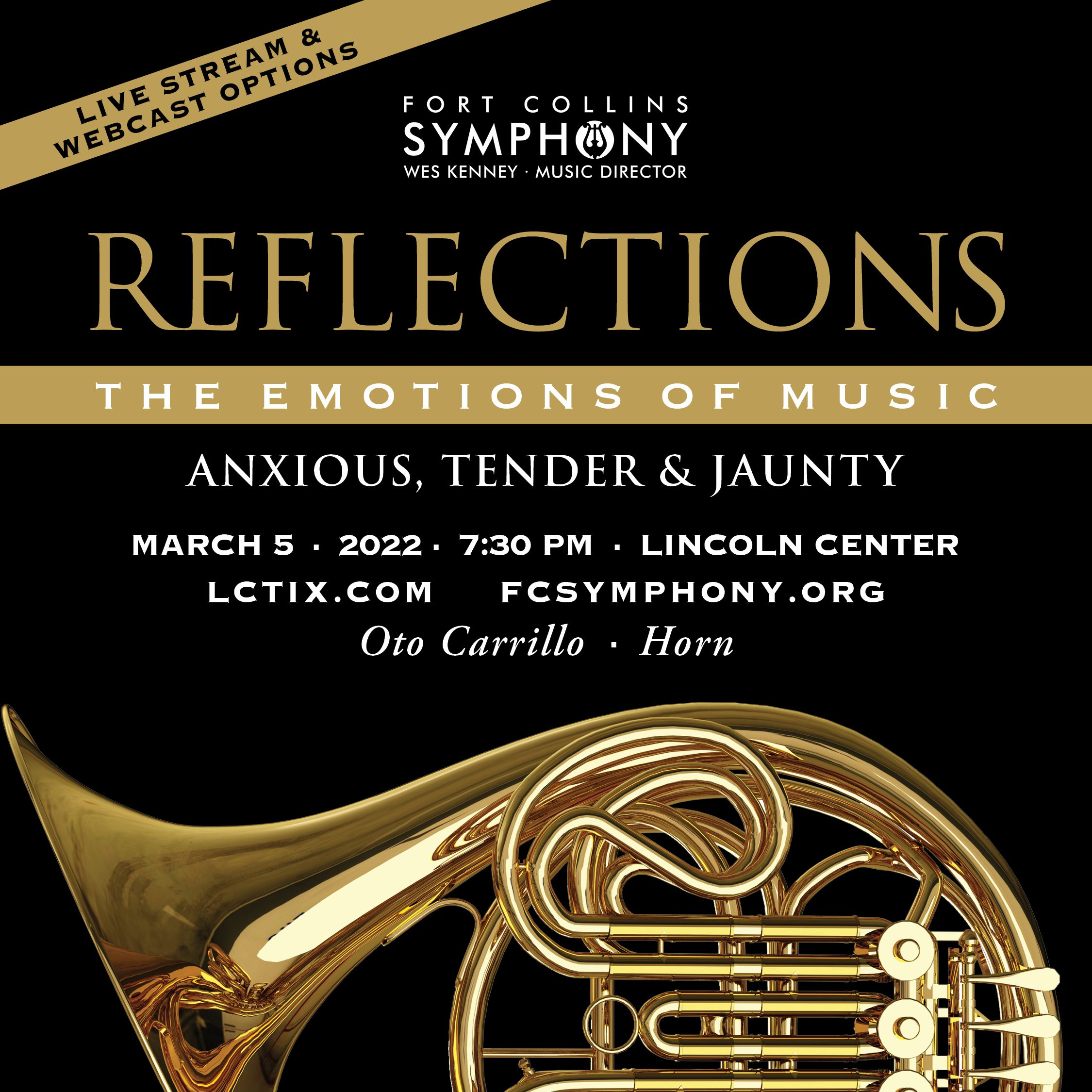 Anxious, Tender, and Jaunty. FCS Signature Concert 4