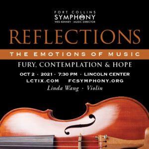 Reflections Violin Fort Collins Symphony Linda Wang